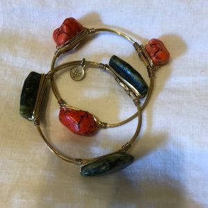 2 Bourbon & Boweties bracelets